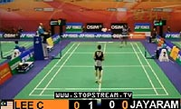李宗伟VS贾亚拉姆 2012香港公开赛 男单1/8决赛视频