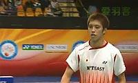 李宗伟VS田儿贤一 2012香港公开赛 男单半决赛视频