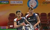 王晓理/于洋VS松尾静香/内藤真实 2012香港公开赛 女双半决赛视频