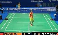 高欢VS周文龙 2012中国公开赛 男单资格赛视频