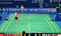 王琳VS玛努布蒂 2012中国公开赛 女单资格赛视频