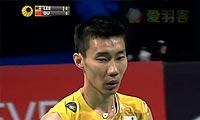 李宗伟VS杜鹏宇 超低视角 2012丹麦公开赛 男单决赛视频