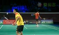 杜鹏宇VS谌龙 2012丹麦公开赛 男单半决赛视频