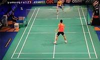 谌龙VS王睁茗 2012丹麦公开赛 男单1/8决赛视频