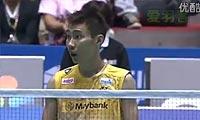 李宗伟VS波萨那 2012日本公开赛 男单决赛视频