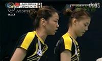 郑景银/金荷娜VS包宜鑫/钟倩欣 2012印度公开赛 女双决赛视频