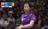 韩利VS裴延姝 2012澳洲公开赛 女单决赛视频