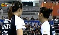 田卿/赵芸蕾VS河贞恩/金旼贞 2012韩国公开赛 女双决赛视频