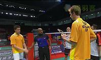 雷德/博世VS阿德里安/德里克 2013苏迪曼杯 男双资格赛视频