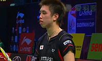 田儿贤一VS约根森 2013苏迪曼杯 男单资格赛视频