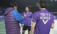 鲍伊/摩根森VS高成炫/柳延星 2011世界羽联总决赛 男双半决赛视频