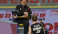 盖德拒与裁判握手 到底发生了什么? 2011中国羽毛球公开赛