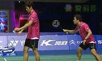 鲍伊/摩根森VS李龙大/郑在成 2011中国公开赛 男双半决赛视频