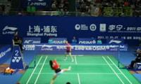 王仪涵VS成池铉 2011中国公开赛 女单1/8决赛明仕亚洲官网