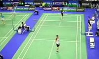 成池铉VS王适娴 2011法国公开赛 女单1/16决赛明仕亚洲官网