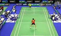 谌龙VS坦农萨克 2011法国公开赛 男单1/16决赛明仕亚洲官网