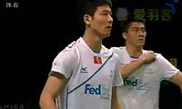 李龙大/郑在成VS蔡赟/傅海峰 2011丹麦公开赛 男双决赛视频