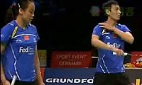 尼尔森/佩蒂森VS张楠/赵芸蕾 2011丹麦公开赛 混双半决赛视频