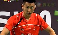 李宗伟VS陈金 2011丹麦公开赛 男单半决赛视频