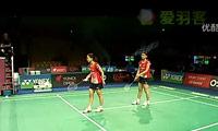 松友美佐纪/高桥礼华VS佩蒂森/尤尔 2011丹麦公开赛 女双1/8决赛视频