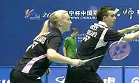 柳延星/张艺娜VS爱德考克/班克尔 2011中国大师赛 混双1/4决赛视频