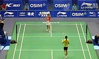 鲍恩VS邢爱英 2011中国大师赛 女单1/8决赛视频