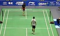 王睁茗VS田儿贤一 2011中国大师赛 男单1/8决赛视频