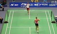 鲍恩VS金纹希 2011中国大师赛 女单1/16决赛视频