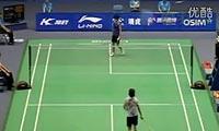 王适娴VS戴资颖 2011中国大师赛 女单1/16决赛视频