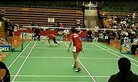 王琳VS菲尔达萨里 第一局 2011澳洲公开赛 女单1/4决赛视频