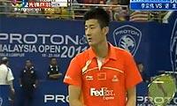 李宗伟VS谌龙 2011马来公开赛 男单半决赛明仕亚洲官网