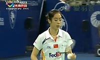 王仪涵VS王适娴 2011马来公开赛 女单决赛视频