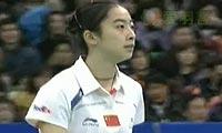 王仪涵VS王适娴 2011韩国公开赛 女单决赛视频