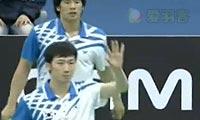 鲍伊/摩根森VS高成炫/柳延星 2011韩国公开赛 男双半决赛视频