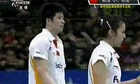 陶嘉明/田卿VS高成炫/河贞恩 2011韩国公开赛 混双半决赛视频