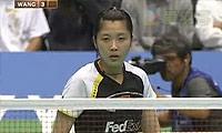 蒋燕皎VS汪鑫(第一局) 2010日本公开赛 女单决赛视频