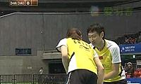 张楠/赵芸蕾VS陶嘉明/田卿(第一局) 2010日本公开赛 混双决赛视频