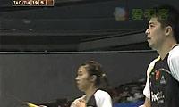 张楠/赵芸蕾VS陶嘉明/田卿(第二局) 2010日本公开赛 混双决赛视频