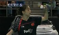 王适娴VS蒋燕皎 2010瑞士公开赛 女单决赛明仕亚洲官网
