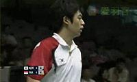 郑在成/李龙大VS塞蒂亚万/阿山 2009苏迪曼杯 男双半决赛明仕亚洲官网