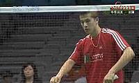 薛轩亿VS马蒂厄 2009苏迪曼杯 男单资格赛视频