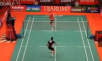 佐佐木翔VS林丹 2011印尼公开赛 男单1/8决赛视频