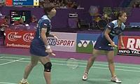 于洋/杜婧VS马晋/王晓理(第一局) 2010世锦赛 女双决赛视频