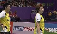 于洋/杜婧VS马晋/王晓理(第二局) 2010世锦赛 女双决赛视频