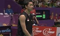 陶菲克VS朴成焕(第一局) 2010世锦赛 男单半决赛视频