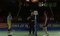 栗原文音VS黄妙珠 2011德国公开赛 女单半决赛视频