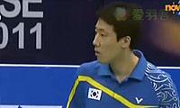 朴成焕VS陶菲克 2011印度公开赛 男单1/4决赛视频