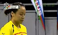 田卿/赵芸蕾VS金旼贞/河贞恩 2011新加坡公开赛 女双决赛视频