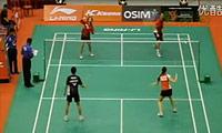 陈宏麟/程文欣VS罗布森/沃尔沃克 2011新加坡公开赛 混双半决赛视频