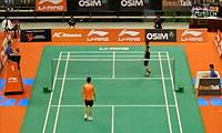 王睁茗VS陶菲克 2011新加坡公开赛 男单1/8决赛视频